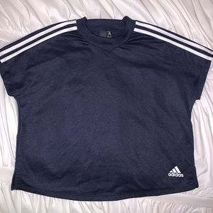 adidas cropped top